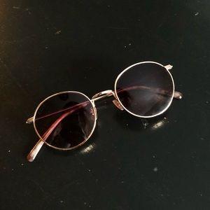 DIFF Eyewear Daisy Rose Gold Lens